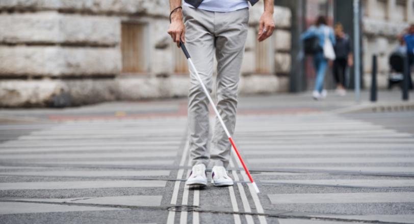 Blind Man sight restored